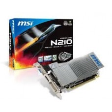 Placa video MSI N210 PCI-E 1Gb DDR3 - LOW PROFILE