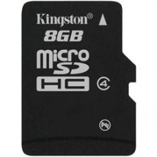 Cartela micro SDHC 8Gb CL4