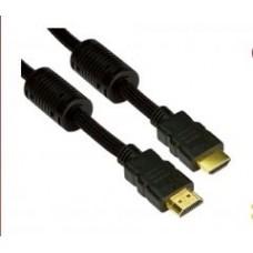 Cablu HDMI 19M/M Gold Plated 1,4V ecranat 1.5m