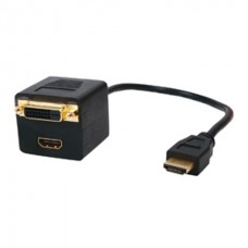 Distribuitor (splitter) HDMI - HDMI+DVI - cable-566