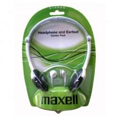 Set casca peste ureche si casca in ureche Maxell