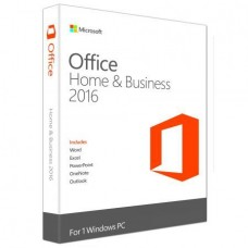 Office Home and Business 2016 Win English, Medialess