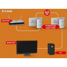 Kit Powerline D-Link DHP-307AV