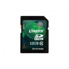 Secure Digital Card 32GB SDHC Clasa 10 (SD Card pentru camerele video) Kingston